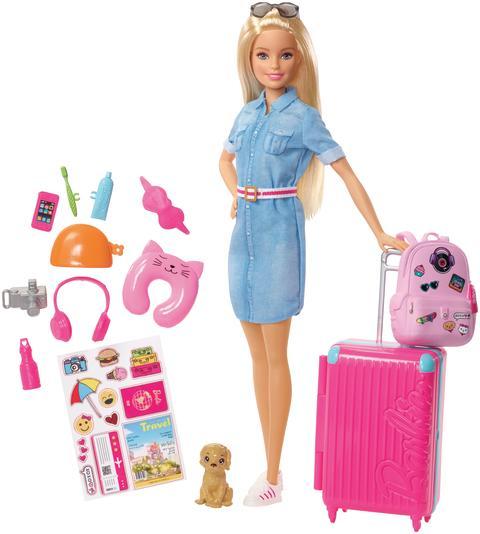 Reise Puppe und Zubehör