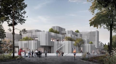 Ny entreprenør til H.C. Ørsted Gymnasiet i Lyngby