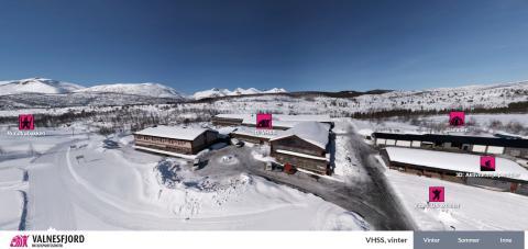 Fra 31. januar kan du gjøre et virtuelt besøk hos VHSS og områdene rundt