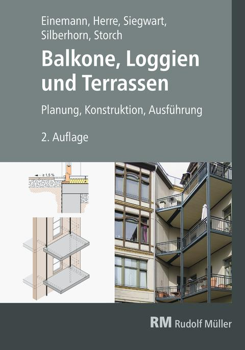 Balkone, Loggien und Terrassen, 2 Auflage (2D/tif)