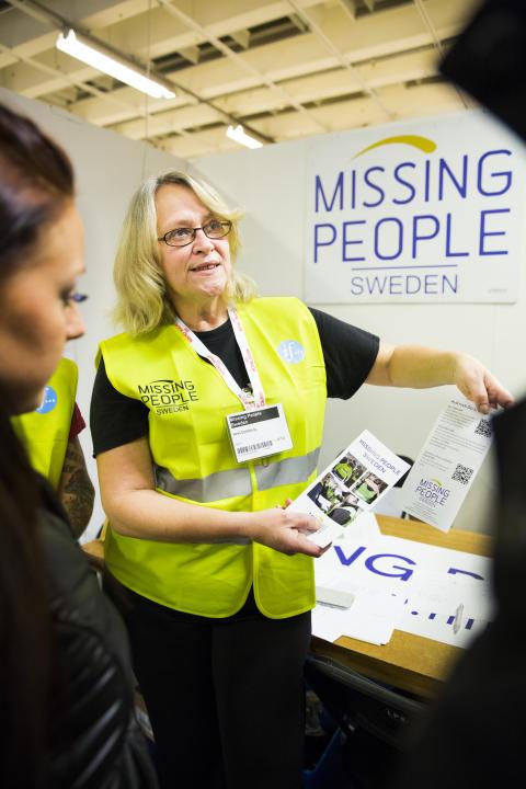 Missing People ställde ut på MyDOG 2014