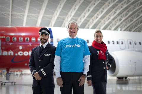 Norwegian's Passengers Donated More Than $720K to UNICEF by Booking Flights Online
