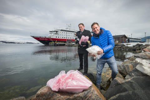 ​Hurtigruten wages war on plastic: Bans single-use plastic by this summer