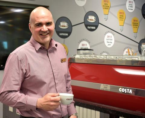 COSTA COFFEE ANNOUNCES NEW UK&I MANAGING DIRECTOR