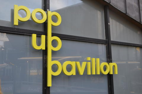 Pop Up Pavillon am Alten Markt
