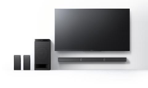 Perfekt bild förtjänar perfekt ljud: Sony höjer hemmabion