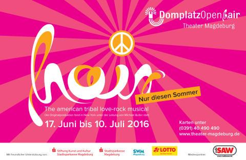 Domplatz OpenAir Magdeburg mit HAIR