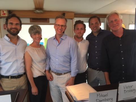 Nordic ConTech i Almedalen: Damberg öppnade för samverkan kring bygginnovation