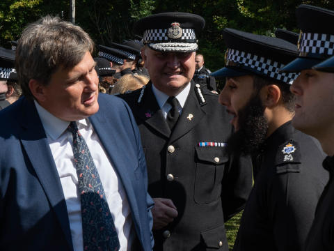 Policing Minister visits Sussex to launch national PC recruitment campaign