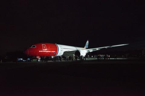 Norwegian sai ensimmäisen 787 Dreamliner -lentokoneensa
