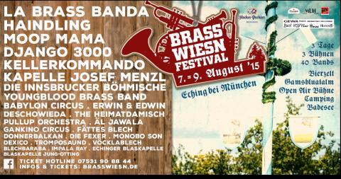 Hacker-Pschorr auf den Brass Wiesn Festival mit dabei