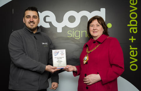 Service stations contract earns major industry accolade for local firm