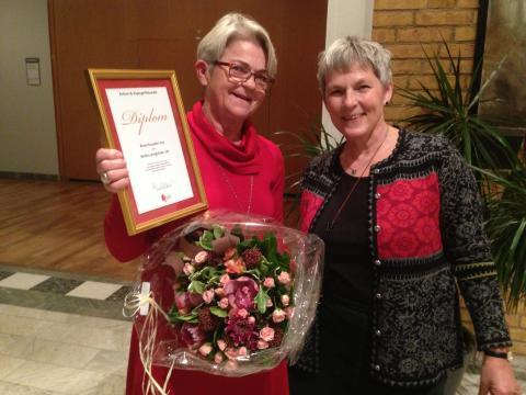 UR:s Barbro Ljungström får utmärkelsen Årets pusselbit