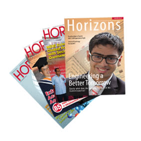 Horizons  - The Official Bi-Monthly Publication by MDIS (March/April 2014)