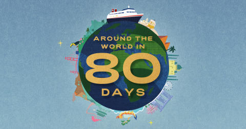 Follow in the footsteps of Phileas Fogg in new 'Around the World in 80 Days' sailing with Fred. Olsen Cruise Lines