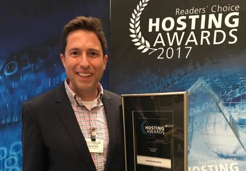Florian Huber, Vorstandsvorsitzender und Mitgründer der united-domains AG