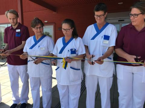 Ny vårdcentral i Almunge invigd