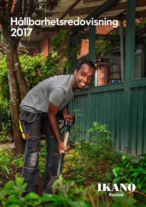 Ikano Bostads hållbarhetsredovisning 2017