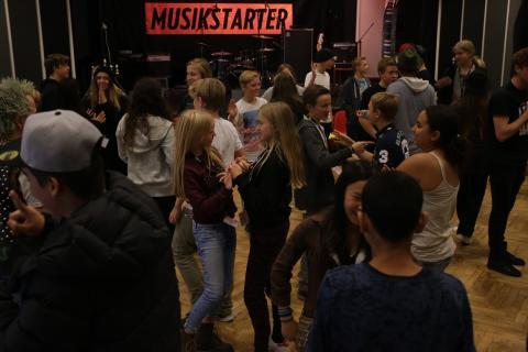 600 unge klar til Musikstarter camp i uge 42