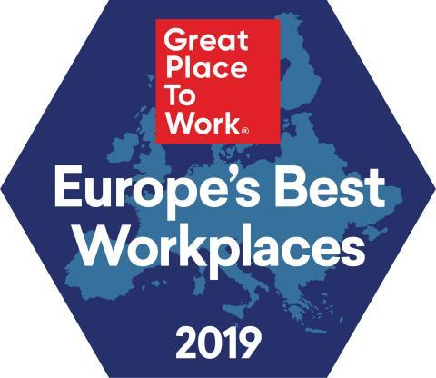 06.06.19_PR_GPTW_Melhores Empresas Europa_2019_Image
