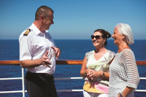 Fred. Olsen Cruise Lines wins prestigious customer service award for putting 'Customers at the Heart of Everything'
