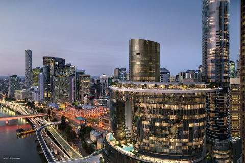 Queen´s Wharf in Australia Takes Shape with Nemetschek Group Software