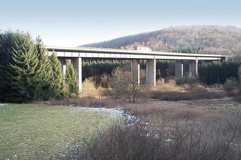 Starting shot for renewal of the Grumbach Bridge along A6 motorway