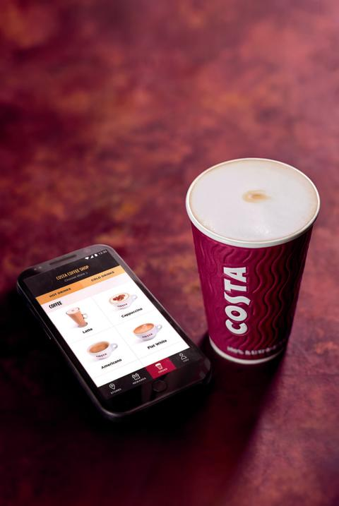 INTRODUCING COSTA COLLECT: COSTA COFFEE LAUNCHES PRE-ORDER DRINKS SERVICE