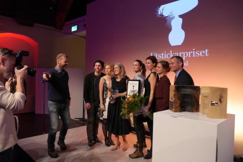 Juryn Utstickarpriset och Polly Higgins