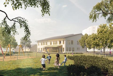 Pressinbjudan: Välkommen på spadtag på Norrstrands förskola