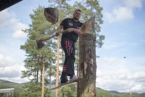 Norge stiller med lag fra Ringsaker til VM i Timbersports 2019