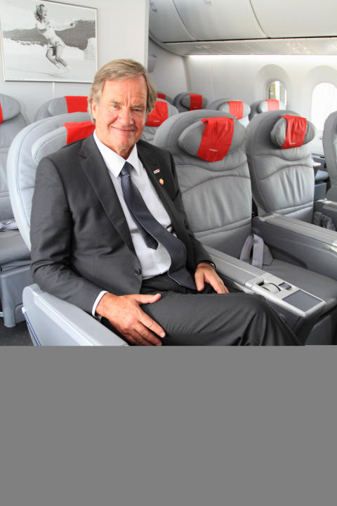 Bjorn Kjos in Dreamliner