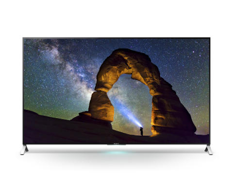 Sony Expands High Dynamic Range Compatible 4K Ultra HD TVs