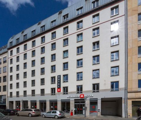 Die Außenfassade des Hotels