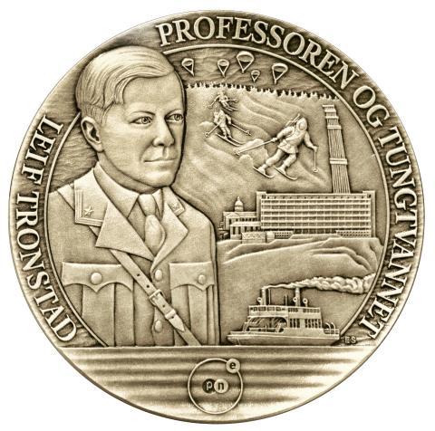 Tungtvannshelt hedres med minnemedalje