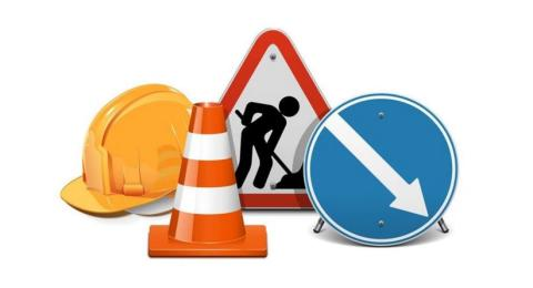 Closure of A686 at Cupola Banks on X81 route from 4 September