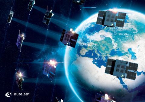 Eutelsat startet mit dem ELO-Projekt eine Nanosatelliten-Konstellation für das Internet der Dinge