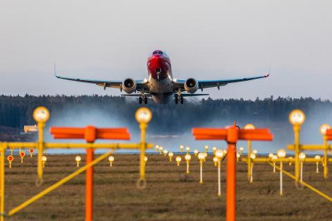 Norwegian med en passagerartillväxt på 12 procent i mars