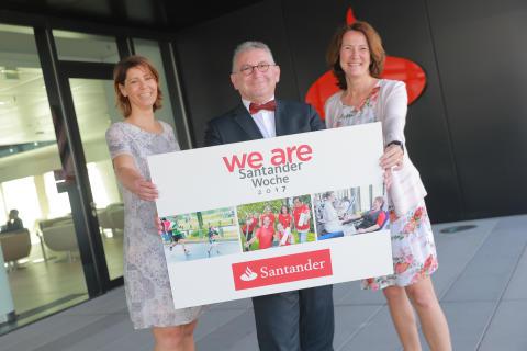 "Eröffnung ""We are Santander""-Woche 2017"
