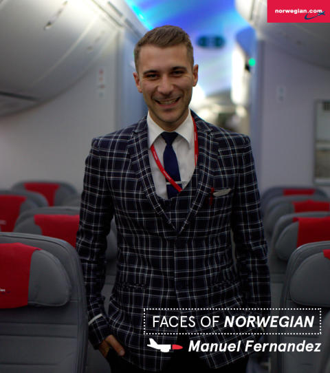 Faces of Norwegian: Manuel Fernandez