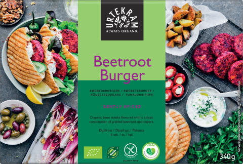 Urtekram Beetroot Burger