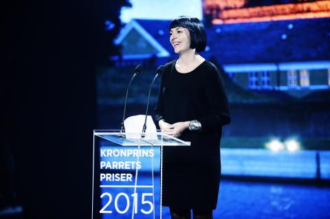Teaterinstruktør Elisa Kragerup modtager Kronprinsparrets Kulturpris 2015