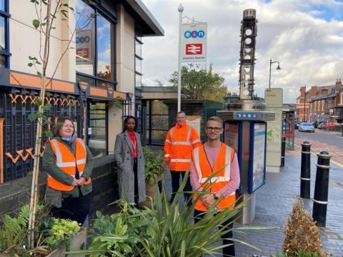 Eco-garden to be installed at popular Birmingham station following West Midlands Railway community grant