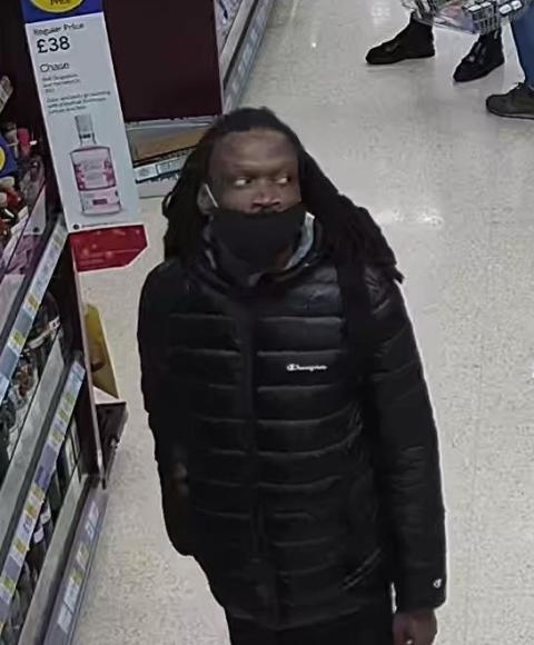 CCTV still issued of man sought following assault, Ilford