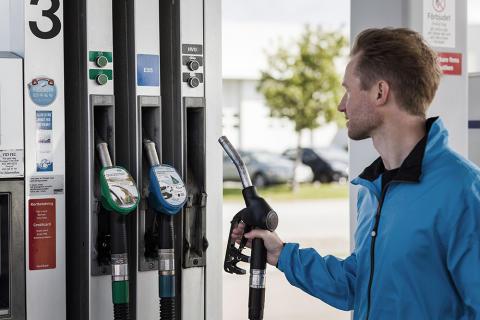 Rekordminskning av biodrivmedel 2018