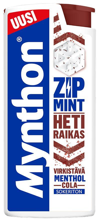 Mynthon Zipmint cola