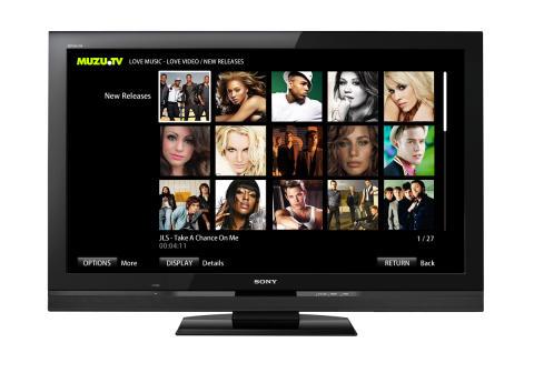 MUZU.TVscreen