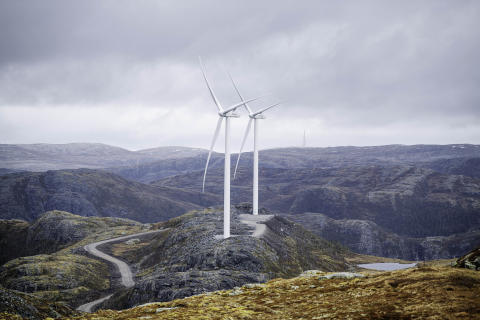Norges største vindpark åpnes i dag