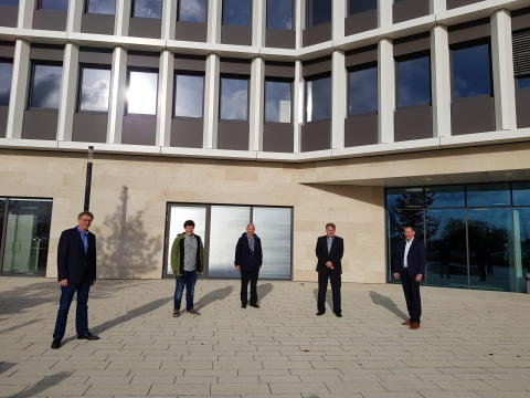 Deutsche Glasfaser erschließt Gewerbegebiet Sendenhorst: Unternehmen erhalten Anschluss an das Netz der Zukunft