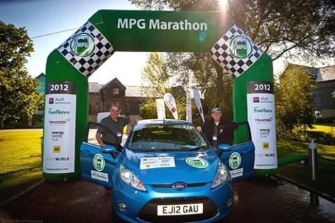Ford Fiesta vant drivstoffmaraton med 0,26l/mil